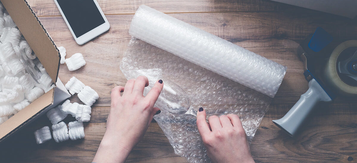 Bubble Wrap Used