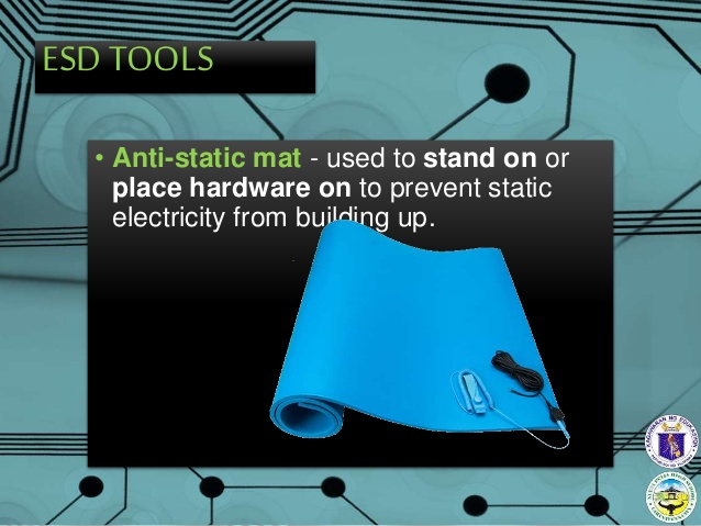 How antistatic mats work and prevent damage