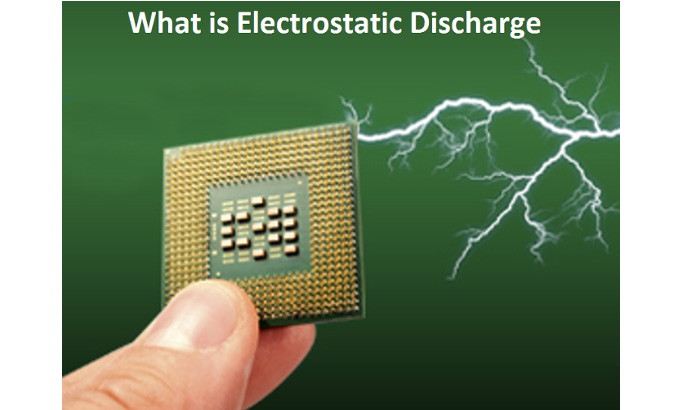 • Electrostatic discharge